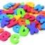 ตัวอักษรลอยน้ำคละสี A-Z และ0-9เป็นของเล่นลอยน้ำ สามารถนำไปแปะฝาผนังได้ ตัวสินค้า ไม่เป็นอันตรายกับเด็กเล็ก สำเนา thumbnail 2